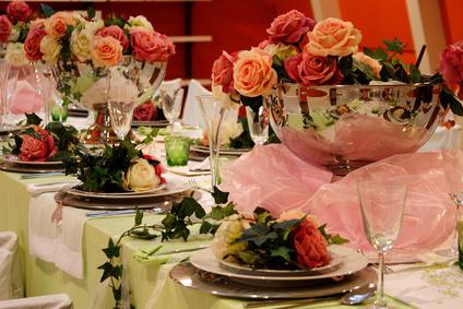 Professionelle Dekoration auf Hochzeiten und Events in Bremen - Bild: Diana-Kosaric - Fotolia.com